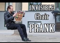 Enlace a El alucinante truco de magia del asiento invisible