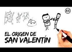 Enlace a El origen de San Valentin explicado de una manera diferente