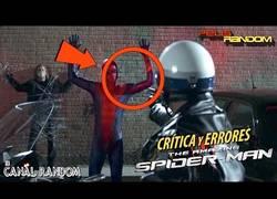Enlace a Errores de películas Spider-Man 2