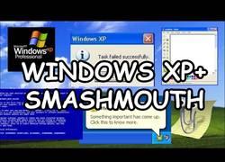 Enlace a La mítica canción de Smash Mouth recreada con las alertas de Windows XP