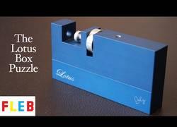Enlace a The Lotus Box - el puzzle más difícil de hacer que habrás visto nunca