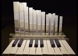 Enlace a Crea un órgano totalmente de papel y suena genial