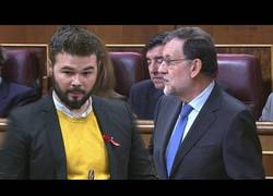 Enlace a Rufián vs Rajoy: