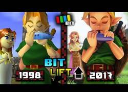 Enlace a The Legend of Zelda: comparación de gráficos de los años 1998 vs 2017