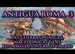 Enlace a Las Guerras de la Antigua Roma bien explicadas