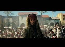 Enlace a 'Piratas del Caribe: La venganza de Salazar' nos presenta su gran tráiler con un ritmo apasionante