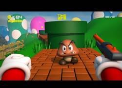Enlace a Así sería el mítico 'Mario' si fuese un juego de disparos en primera persona