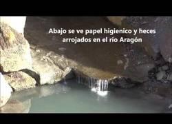Enlace a Esta estación de esquí vierte así el agua al río Aragon, posteriormente tiene uso domestico