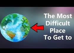 Enlace a El lugar que más dificultad tiene para llegar en La Tierra