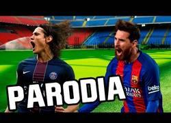 Enlace a Convierten la remontada del Barça al PSG en una versión de Enrique Iglesias