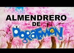 Enlace a El Almendrero de Doraemon. Ya está aquí la primavera