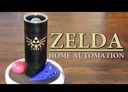 Enlace a Crea un sistema en casa para controlarla con la Ocarina del Zelda