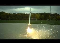 Enlace a El lanzamiento de un cohete visto en super slow motion