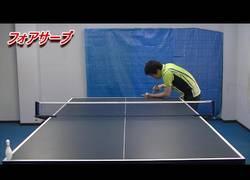 Enlace a Habilidades supremas jugando al ping pong