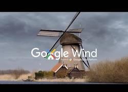 Enlace a 'Google Wind' el último invento para tener un gran día soleado y que llueva cuando tú decidas