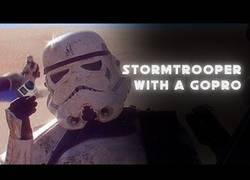 Enlace a Stormtrooper se encuentra una GoPro y graba su muerte