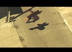 Enlace a ¿Qué es el riesgo? Riesgo es bajar con skate por las calles de San Francisco