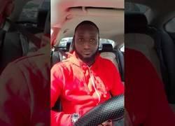 Enlace a Pillan a una mujer loca amenazando a su conductor de Uber amenazándolo de violación