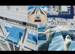 Enlace a La piscina de los 150 metros de altura con la que sentirás vértigo