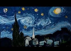 Enlace a Pintando el famoso cuadro de