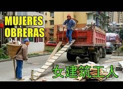 Enlace a Así trabajan las mujeres chinas en la construcción