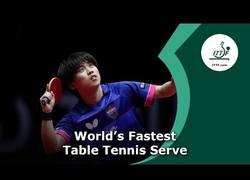 Enlace a El servicio asesino a 200 km/hora en ping pong
