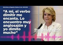 Enlace a ¡Vaya tela con la Aguirre!