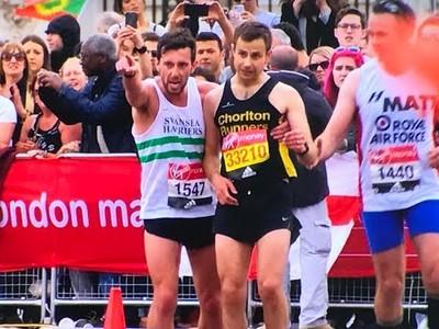 El gesto más emocionante y bonito de la Maratón de Londres