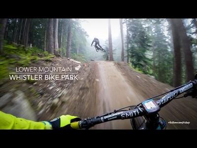 El espectacular descenso por Whistler Bike Park que dejará pegado a la pantalla