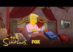 Enlace a Los Simpson parodian los 100 primeros días de Trump como presidente en Estados Unidos
