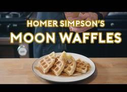 Enlace a Cocinan los gofres que Homer Simpson hace en la serie y tienen una pinta deliciosa
