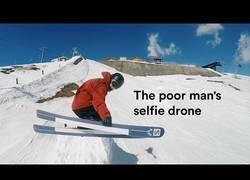 Enlace a No tiene dinero para un drone y decide lanzar la GoPro y grabarse y sale esta maravilla