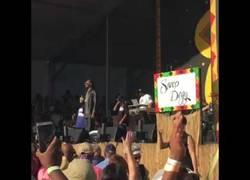 Enlace a La intérprete para sordomudos que revoluciona internet con su arte en un concierto de Snoop Dogg