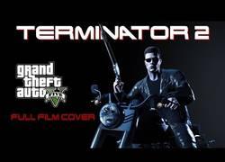 Enlace a Película completa de Terminator 2 recreada con el videojuego GTA V