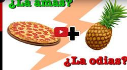 Enlace a Cocina una deliciosa (o no) pizza hawaiana y el resultado es...