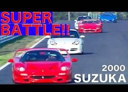 Enlace a Los mejores superdeportivos de los 90 midiéndose en carrera en el circuito de Suzuka