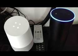 Enlace a Google Home y Amazon Echo se hacen amigos con esta conversación