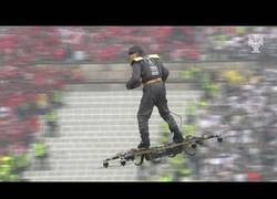 Enlace a Avances en drones: Ya se usan para llevar al recogepelotas en los partidos