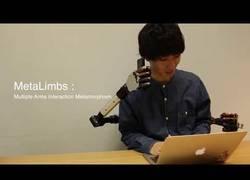 Enlace a MetaLimbs, el mecanismo que te hará tener 4 brazos