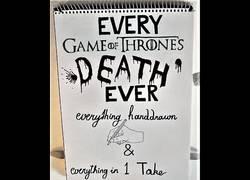 Enlace a Las muertes más relevantes de Juego de Tronos dibujadas y animadas a mano (spoilers)