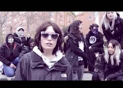 Enlace a IRA presenta su tema feminista
