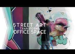 Enlace a Arte callejero en la oficina con un resultado increíble