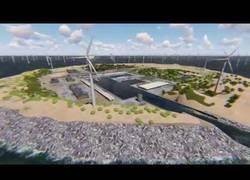 Enlace a Isla artificial en el Mar del Norte suministrará energía renovable a 80 millones de europeos
