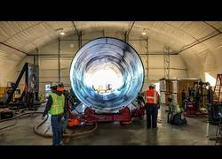 Enlace a Construyen el túnel de pruebas de hyperloop el futuro medio de trasporte mas rápido (1200 km/h)