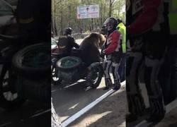Enlace a El gran paseo en moto de este oso que revolucionó su ciudad