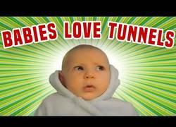 Enlace a A los bebés le encantan los túneles