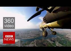 Enlace a Video 360° de pilotos del ejército de Iraq sobre Mosul peleando contra el Estado Islámico