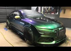 Enlace a Pintan el Audi RS7 y el resultado es espectacular