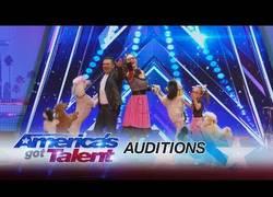 Enlace a Acuden a America's Got Talent con su manada de perros y sorprenden a todo el Mundo
