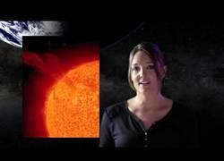 Enlace a ¿Son peligrosas las explosiones solares?
